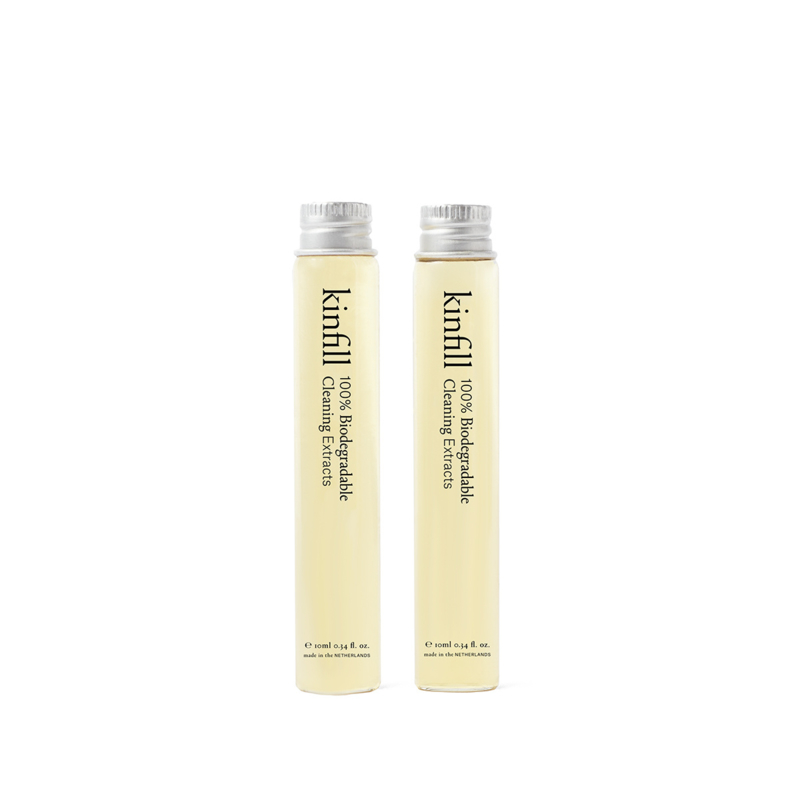 Kinfill Homecare : Floor Cleaner Refill Set of 2 | Biodegradable Eco Vegan Low Waste Cleaning Products