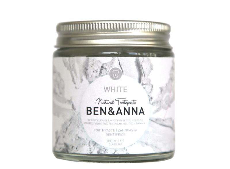 Ben & Anna White Sage Toothpaste 100ml Natural Vegan Plastic Free