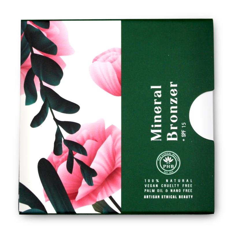 PHB Ethical Beauty : Bronzer Tan SPF 15 9 gram - Vegan - Biologisch - Halal