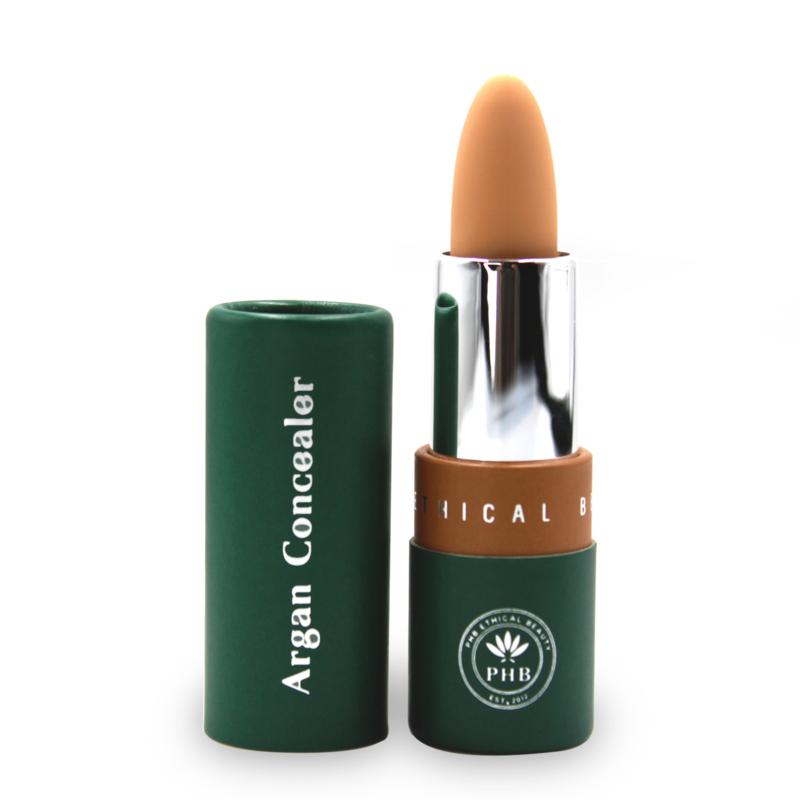 PHB Ethical Beauty : Argan Cream Concealer Stick - Medium 10 gram - Vegan - Biologisch - Halal