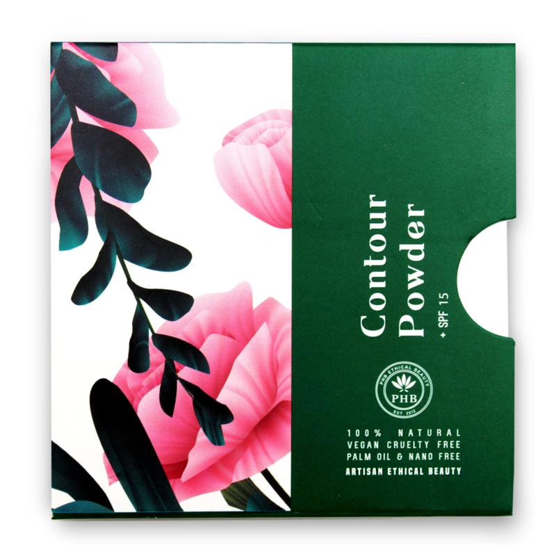 PHB Ethical Beauty : Contour Powder Light SPF 15 - 9 gram - Vegan - Biologisch - Halal