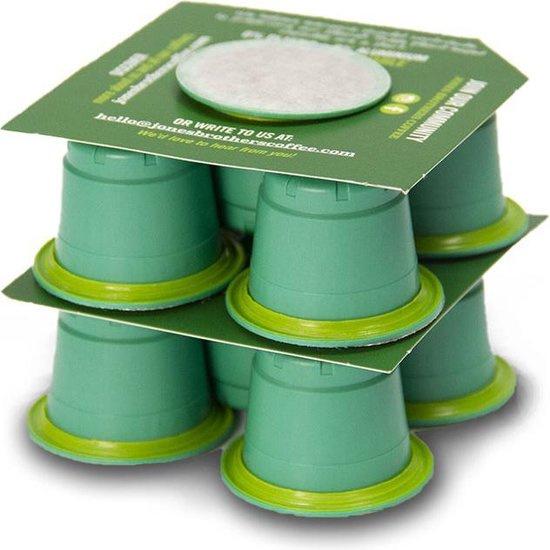 Jones Brothers Coffee : Gigolo Ristretto 10 Nespresso™ style cups - Biologisch - Fair Trade - Biologisch Afbreekbaar