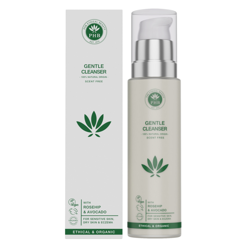 PHB Ethical Beauty : Gentle Cleanser 100ml - Vegan - Biologisch - Halal