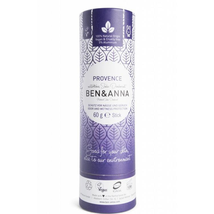 Ben & Anna Provence Organic Vegan Plastic Free deodorant