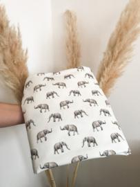 Olifantjes tricot | per halve meter