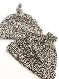 Newborn setje leopard sand