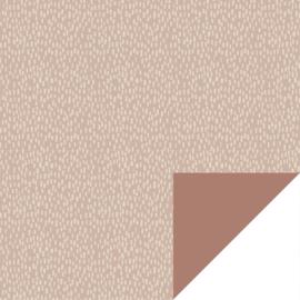 Verzendzakjes dots roze/beige - 5 stuks