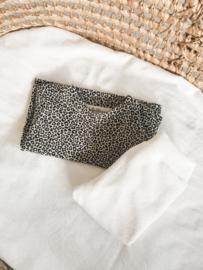 Shirtje leopard sand