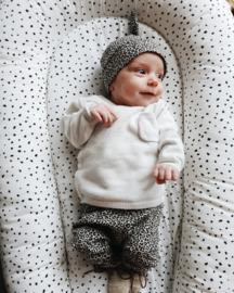 Newborn mutsje leopard sand