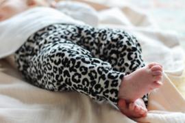 Broekje leopard velvet