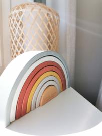 Regenboog hout pure & nature | LITTLE DUTCH