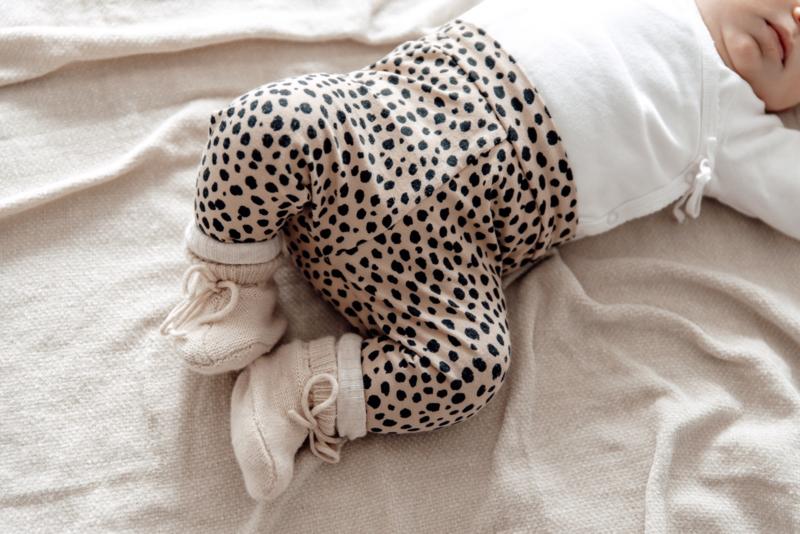 Newborn setje leopard dots