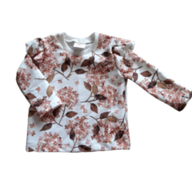 Shirt Old flowers