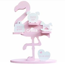 Flamingo deco set