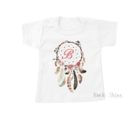 Shirt Dream Catcher - met eigen letter
