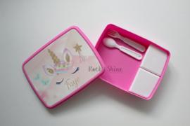 Lunchbox XL Eenhoorn ster