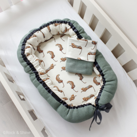 Babynestje Cheetah - Green