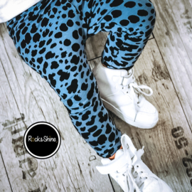 Broekje blue leopard