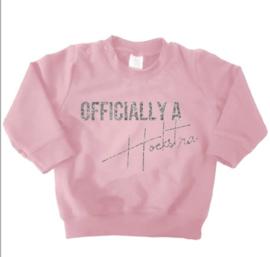 Sweater officially a *achternaam*