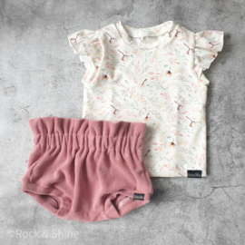 Shirt ruffle autumn handmade