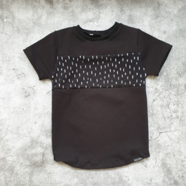 Shirt Monochrome/Spikkels