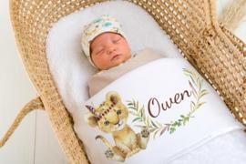 Baby deken Babyleeuwtje