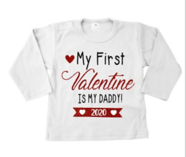Shirt My first valentine is my daddy