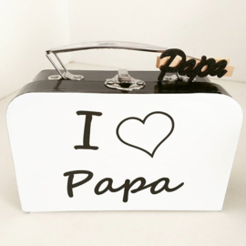 DK Vaderdag Valiesje -  I love papa