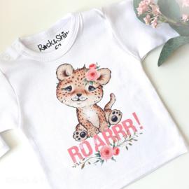 Shirt baby leopard roarrr