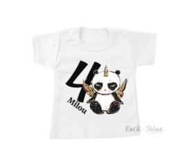 Leeftijd shirt met Panda