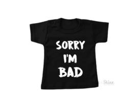 Sorry i'm bad