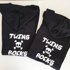 Hoodie vesten || Twins rock