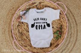 Romper Baby houdt van oma/opa/tante...