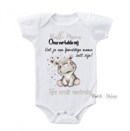 Romper Geweldige mama -Moederdag