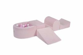 Foam Roze speelset -100 Ballen