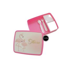 Lunchbox XL Flamingo