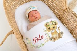 Baby deken Welpje