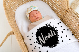 Baby deken Monochrome