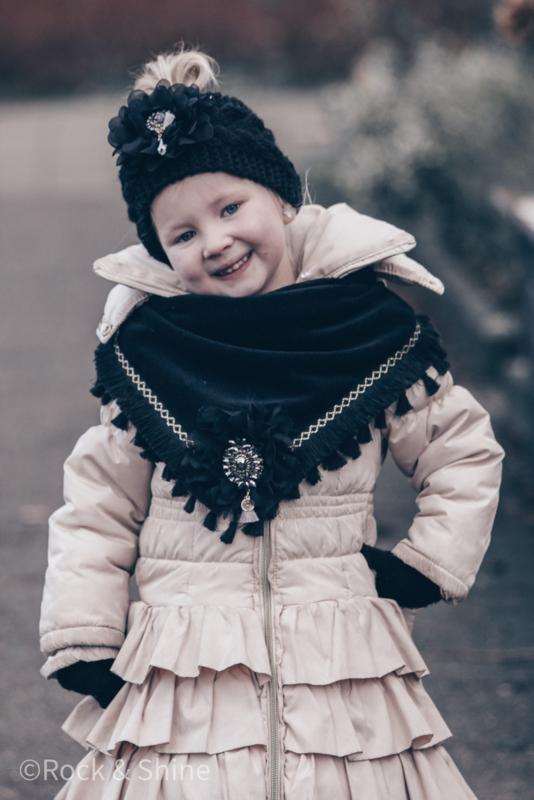 Winterhaarband zwart