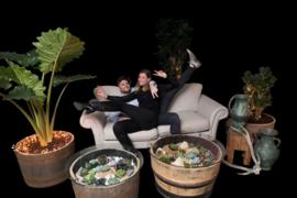 Wat is een binnentuin tafel