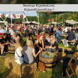 Bacchus wijnfestival & hergebruik