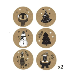 Sticker | Kerstmis