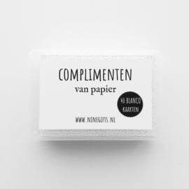 Complimentenbox