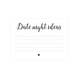 Invulkaart - Date Night (20st)