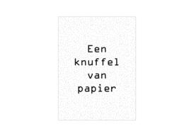 Cadeaukaartje | Een knuffel van papier