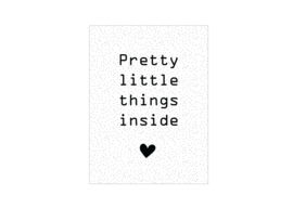 Cadeaukaartje | Pretty little things inside