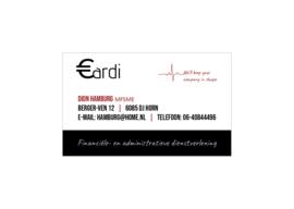 Visitekaartje met logo