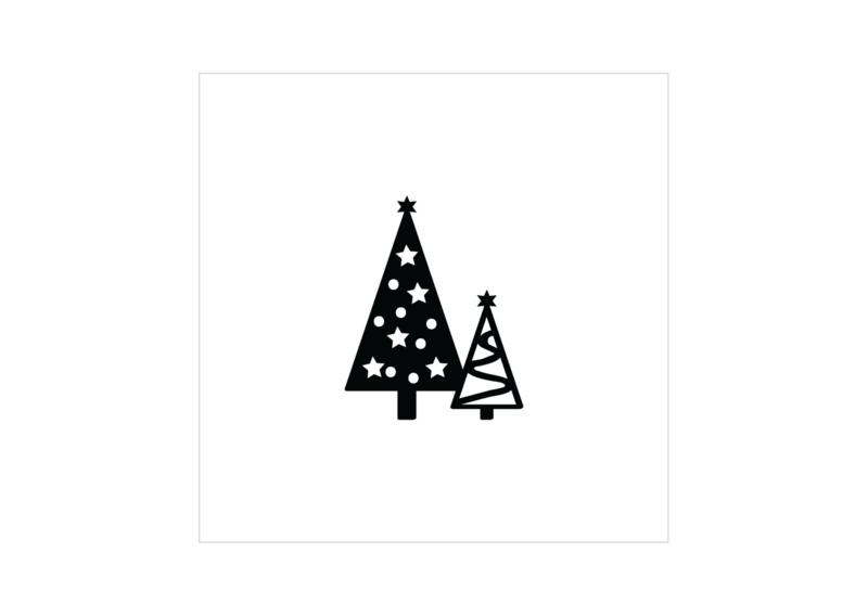 Cadeaukaartje - Kerstboom