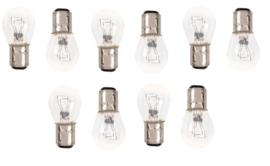 10 STUKS Lamp duplo 21/5w 12v, wit, BAY15d