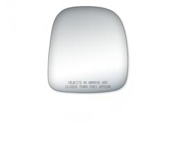 Spiegelglas Rechts, met tekst, Express / Savana 96-02